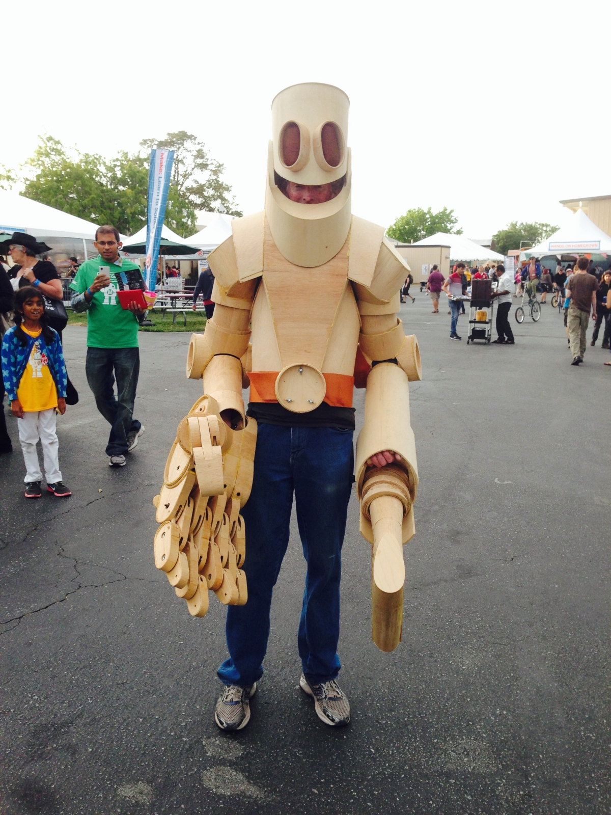 The Wooden Scarecrow